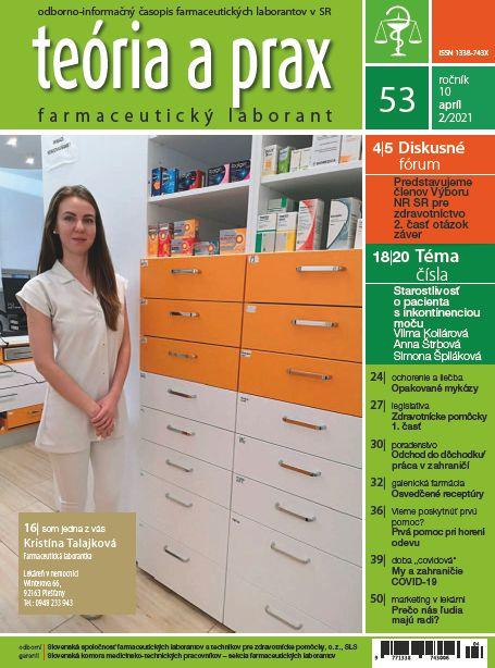 Časopis Teória a prax Farmaceutický laborant